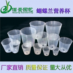 Clear high quality Plastic Nursery Pot