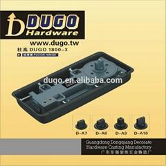 DUGO 1800-3 High Quality Floor Hinge of Tempered Glass Door