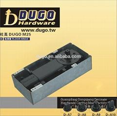 DUGO M25 Hot Sale Cylinder Floor Spring For Wooden Door Glass Door Aluminum Door