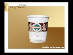 disposable double coffee paper cups