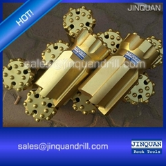 Top hammer rock drilling tools - button bits suppliers