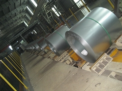 produce galvanized steel coil and prepainted steel coil