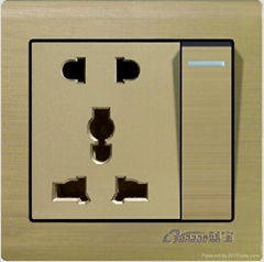 86type electrical switch socket