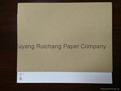 liner kraft paper in white color