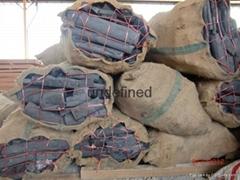 Ecalyptus wood charcoal