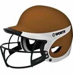 Worth OSFM Liberty Combo Batting Helmet