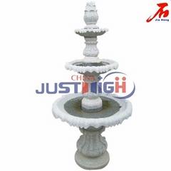 Grey Color Granite Stone Fountain