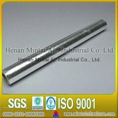 Harmless silvery aluminium foil seals for bottle