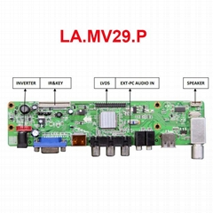 LA.MV29.P TV Controller Board LA.MV29.P with VGA HDMI AV USB TV