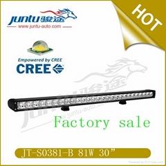 30 inch 5670lm 81W 9-32V  light IP67 Waterproof 30 inch led light bar