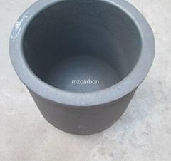 高純石墨坩堝熔化鋁或銅