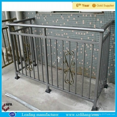 Stainless Steel Wrought Iron Balcony Railing