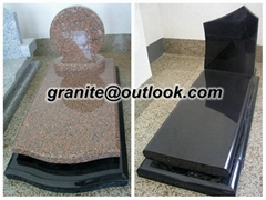 Granite Tombstone and Mo