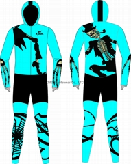 2015 Newest Fashion Design Comfortable long track ice skate clothing rubber