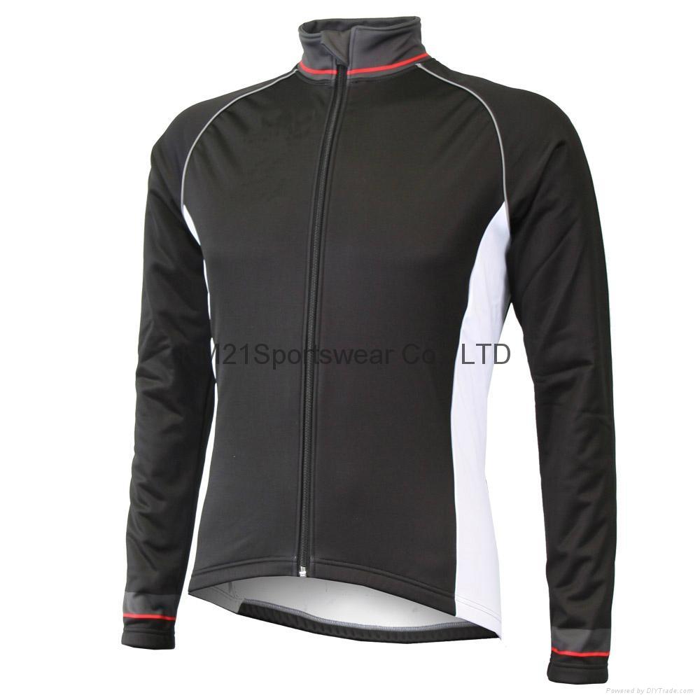 KM21 French cyclist keep warm cycling jacket wholesale 1