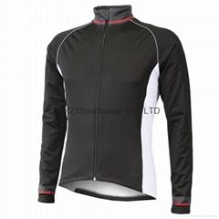 KM21 French cyclist keep warm cycling jacket wholesale