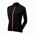 KM21 French cyclist keep warm cycling jacket wholesale 2