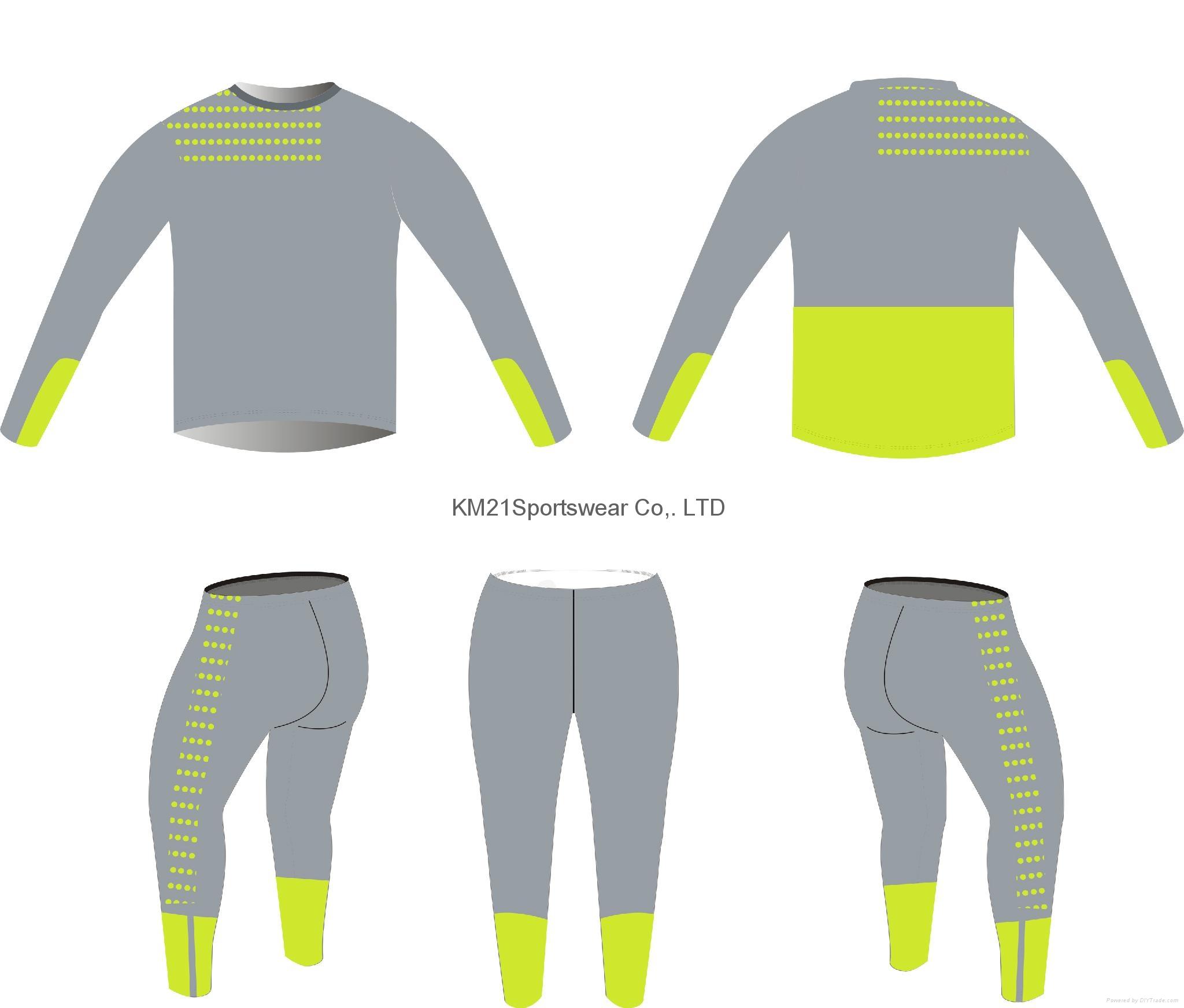 Pink women Full sleeve running wears 2015 bodybuilding wear slim fit running wea 2