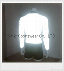Reflective Jersey magical fabric jersey  Digital sublimation Custom Printing S