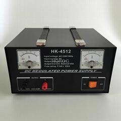 HK- 4512  45AMP 13.8VDC Linear power supply