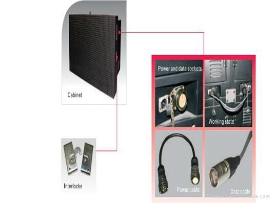 Popular cheap p10 DIP outdoot advertising big video wall led display 1