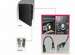 Popular cheap p10 DIP outdoot advertising big video wall led display