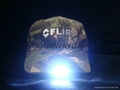 new design camo cotton led hat