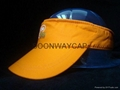 cotton sun visor cap with printing logo