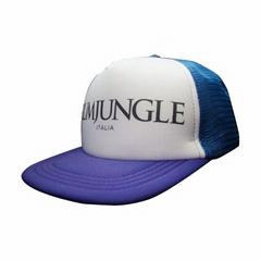 Flatbill snapback mesh trucker hats