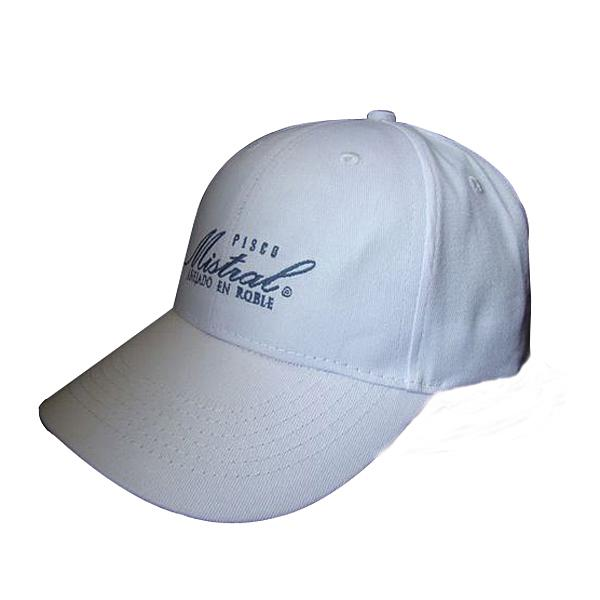 Wholesale 6-panel cotton baseball cap with embroidery logo