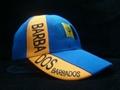 Wholesale Barbados acrylic football cap