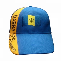 Wholesale Barbados acrylic football cap