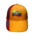 Wholesale Ecuador football cap with embroidery logo