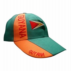 Wholesale Guyana acrylic football cap