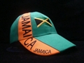 Wholesale Jamaica acrylic football cap