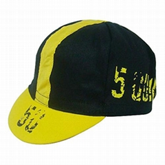 Cotton cycling cap with printing logo