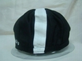 Cotton twill cycling hat