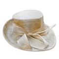 Premium sinamay facinator hat