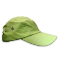 Green Microfiber hat with metal closure