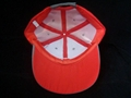 6panel microfiber baseball cap with embroidery logo