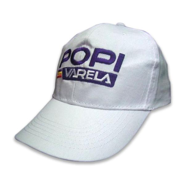 6 panel cotton baseball cap with embroidery logo