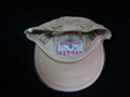 Embroidered washed cotton baseball cap