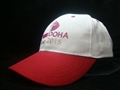 Cotton baseball cap with embroidery logo