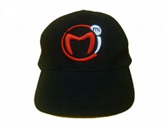 Cotton baseball cap with