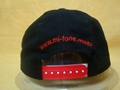 Cotton baseball cap with 3D embroidery logo