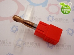 RZT60度球頭鎢鋼銑刀