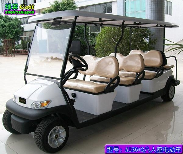 Electric sightseeing car 2
