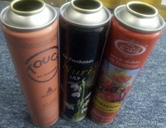 aerosol tin cans  factorycan air freshener spray cans