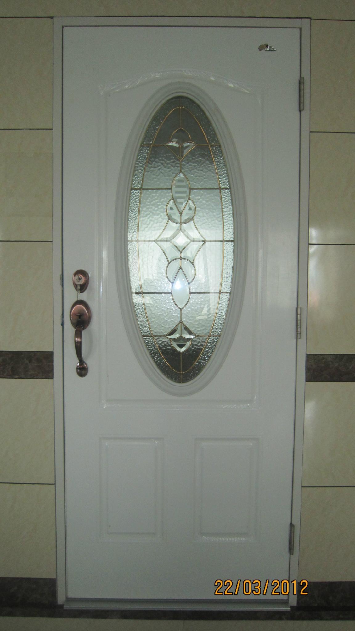Steel Glass Doors Door With Oval Glass 3