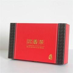 木質沉香茶茶葉皮盒包裝